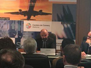 Presentación de Consulting JP sobre el MaB en la Cámara de Comercio de Palma